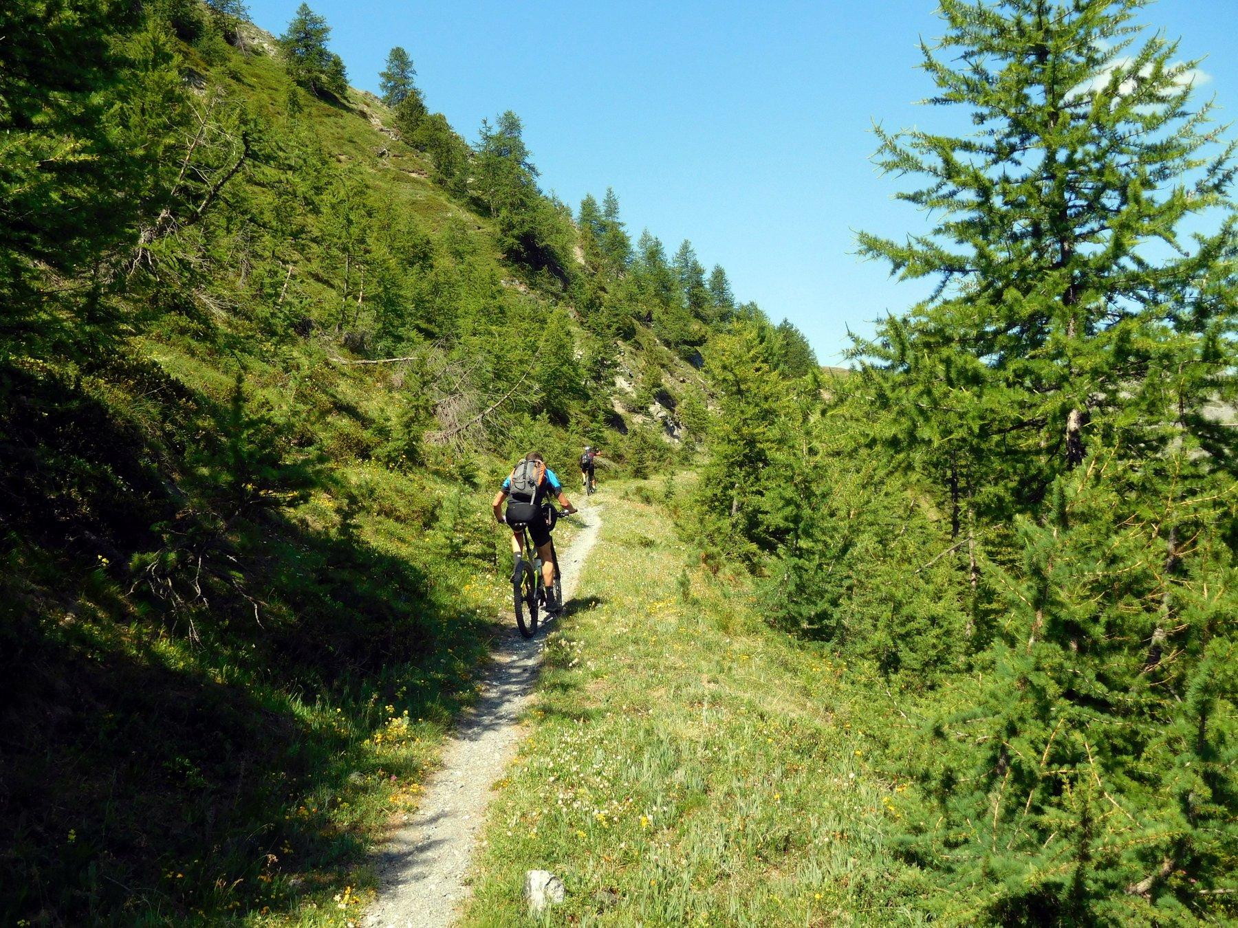 verso il monte Corbioun