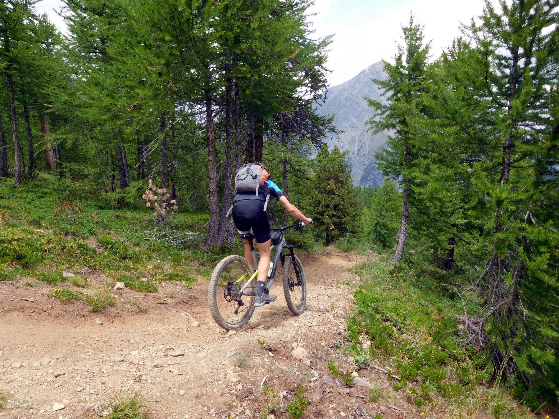 Corbioun (Monte) da Bousson, giro per i colli Begino, Chabaud, Bourget, Bousson, Costa la Luna e discesa val Gimont 2018-07-14