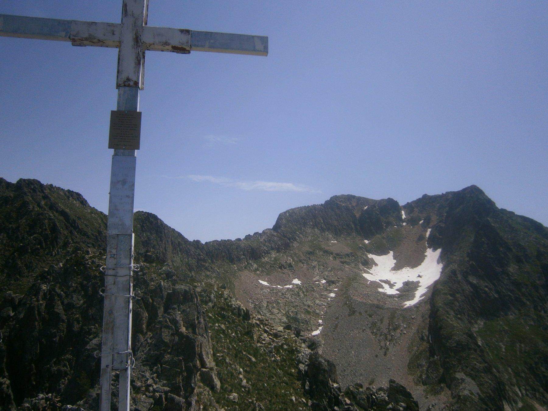 Monte dell'Aver da rocca san Giovanni