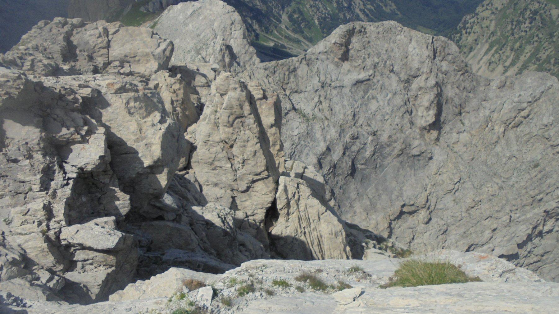 Imponenza della parete nord