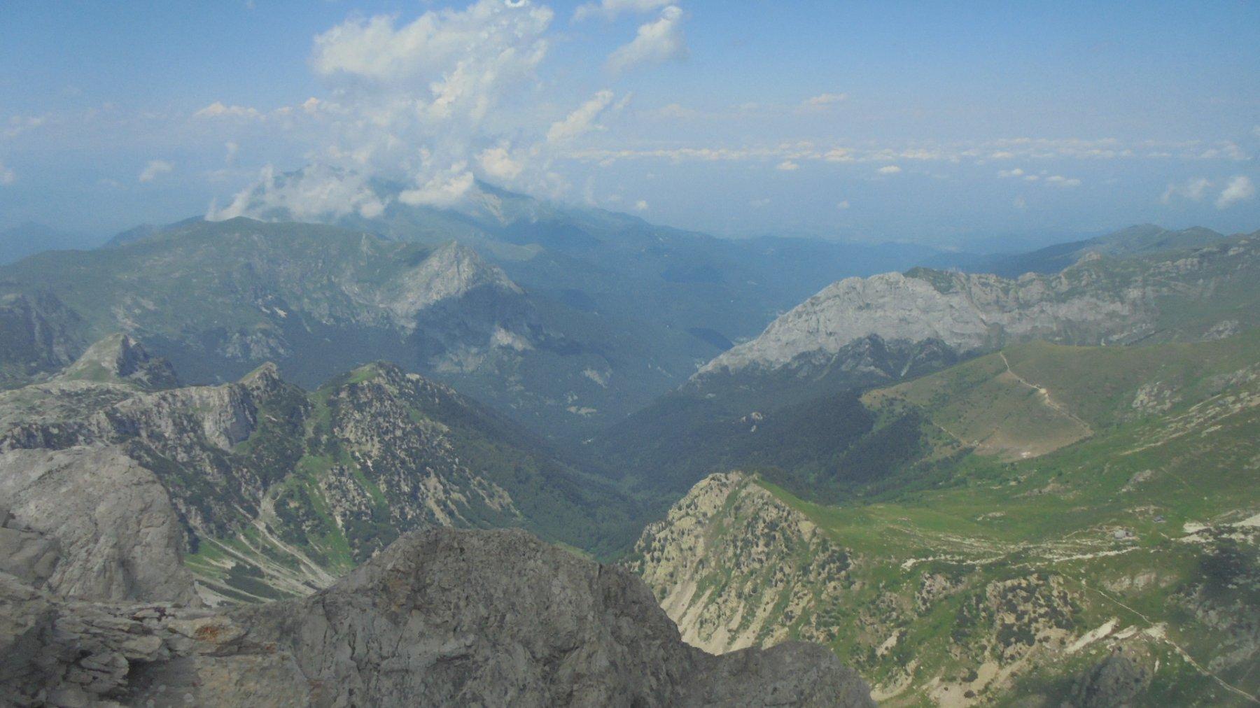 Verso Valle Pesio e pianura