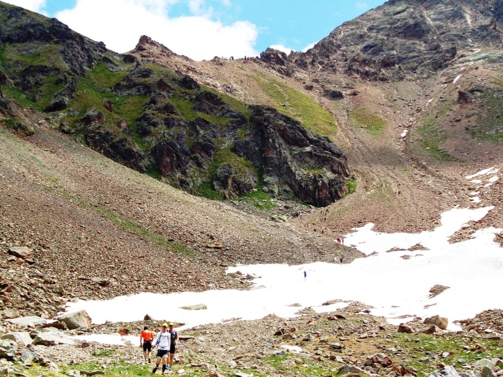 sentiero 16A da quota 2520m
