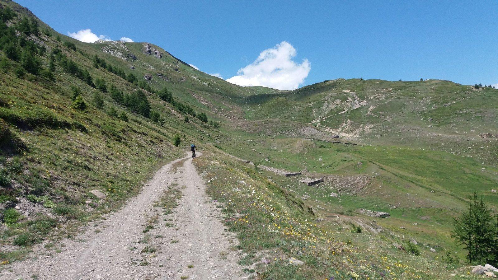 Arrivo all'Alpe Met