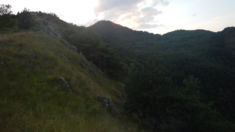 Monte Ciabergia al centro