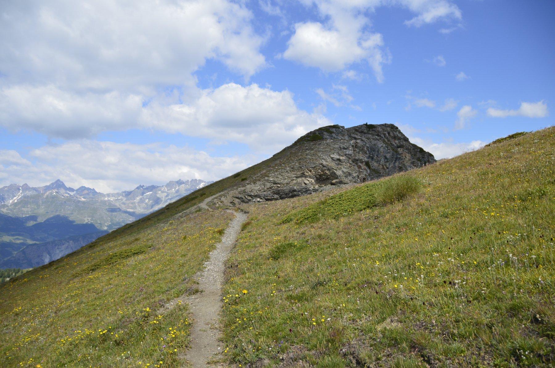 Fino al secondo ripetitore il sentiero è facilissimo.