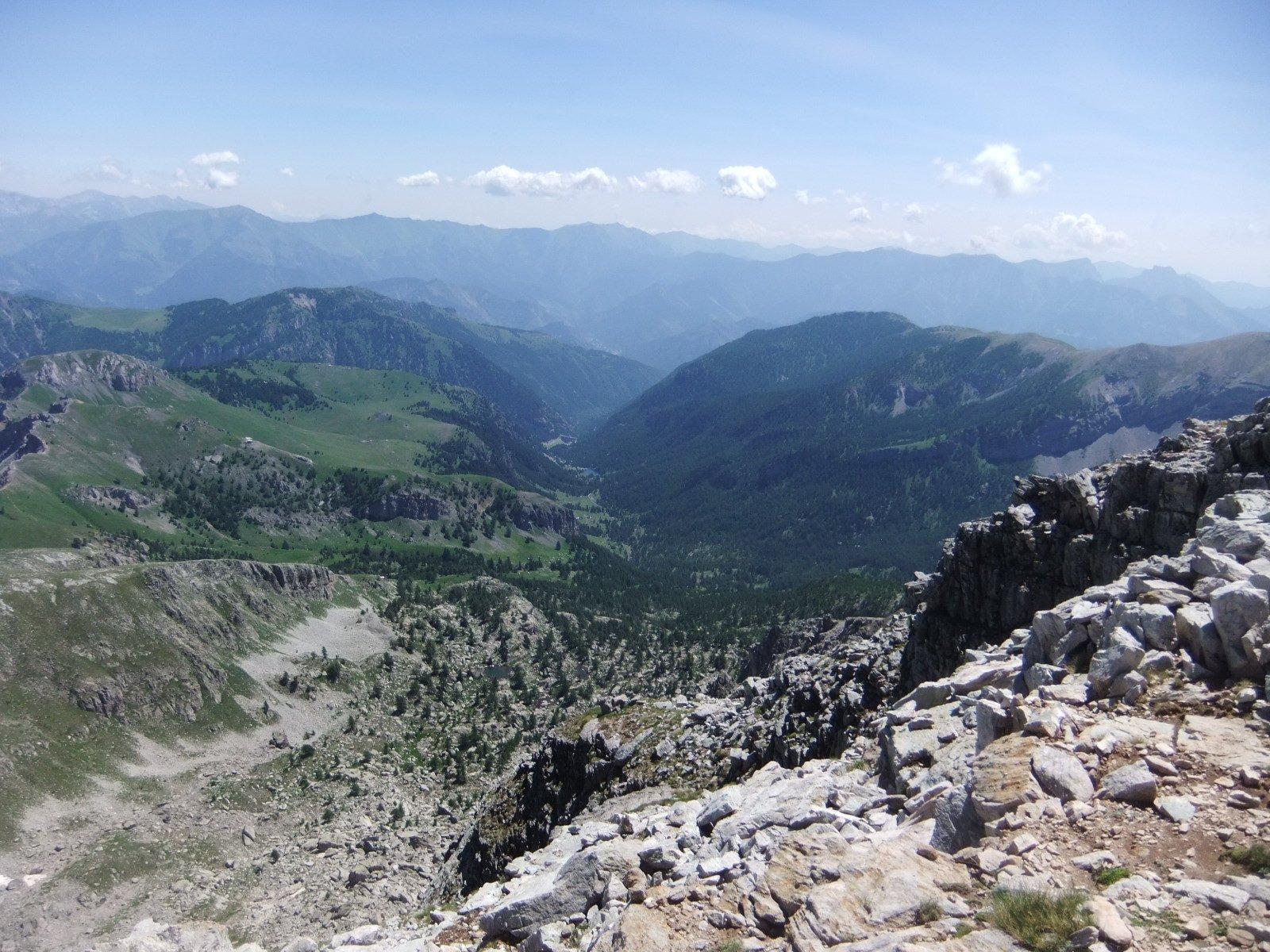 Vallone de la Miniere dall'anticima