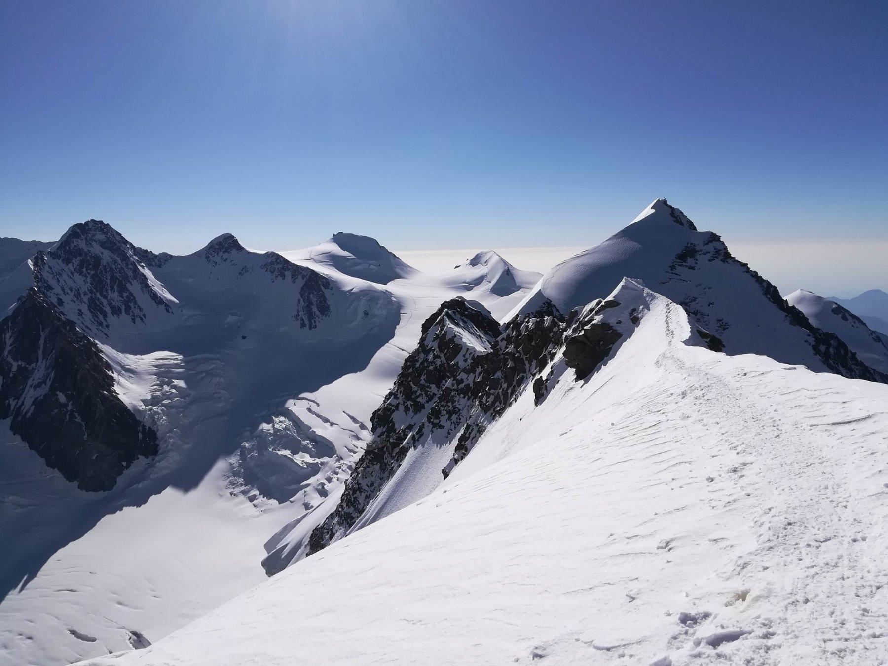 Cresta verso il Lyskamm Orientale