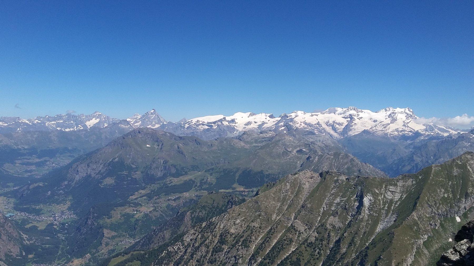 bella vista dalla cima