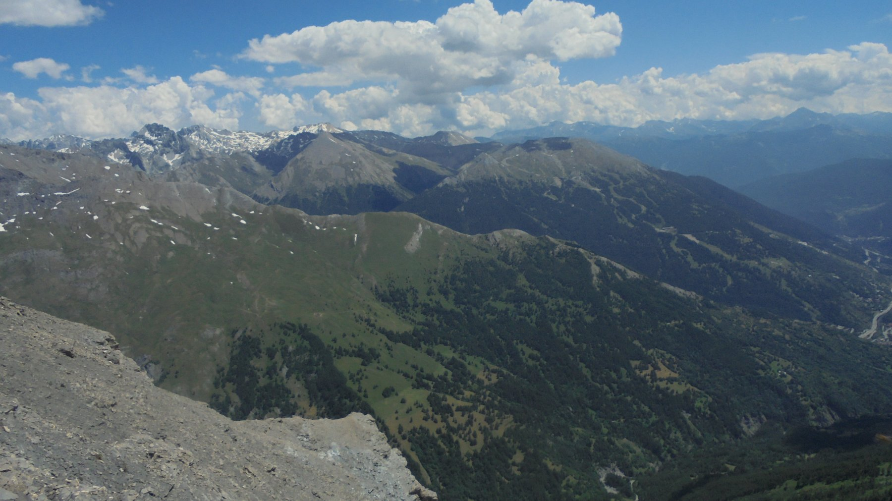 Verso lo Jafferau e la valle del Frejus