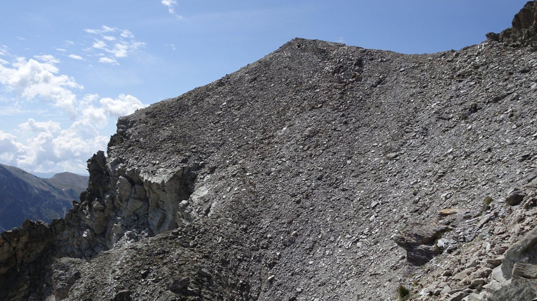 Pendio 4.1 E1  sul vallone di Ciabrera
