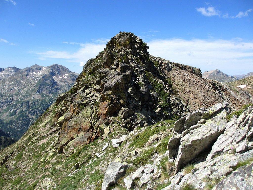 IL salto roccioso cresta ovest Novelle