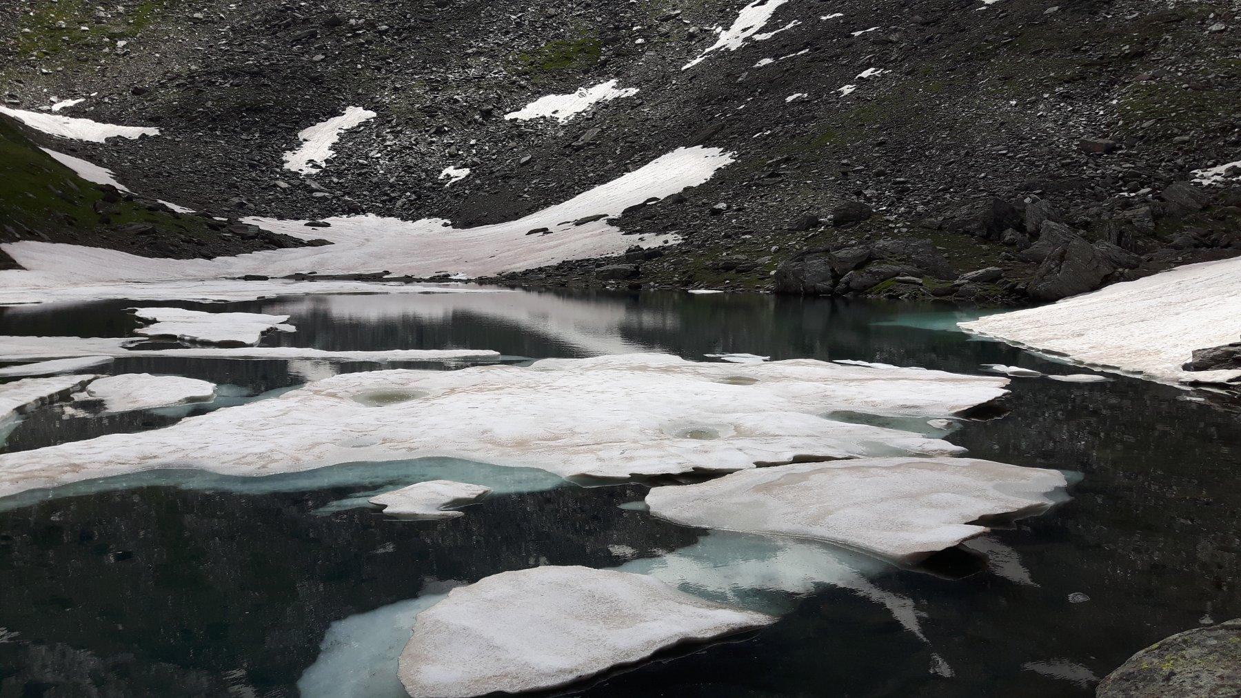 Neve al Lago Verde