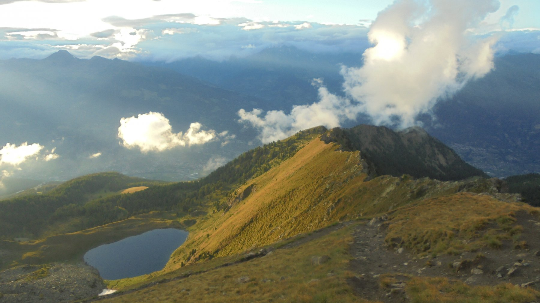 Panorama dal col Chamolè