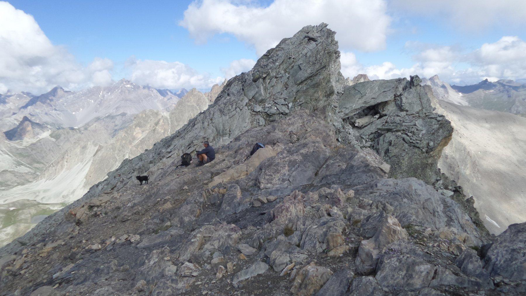 la Cima NO del Monte Maniglia m. 3183, punto più elevato