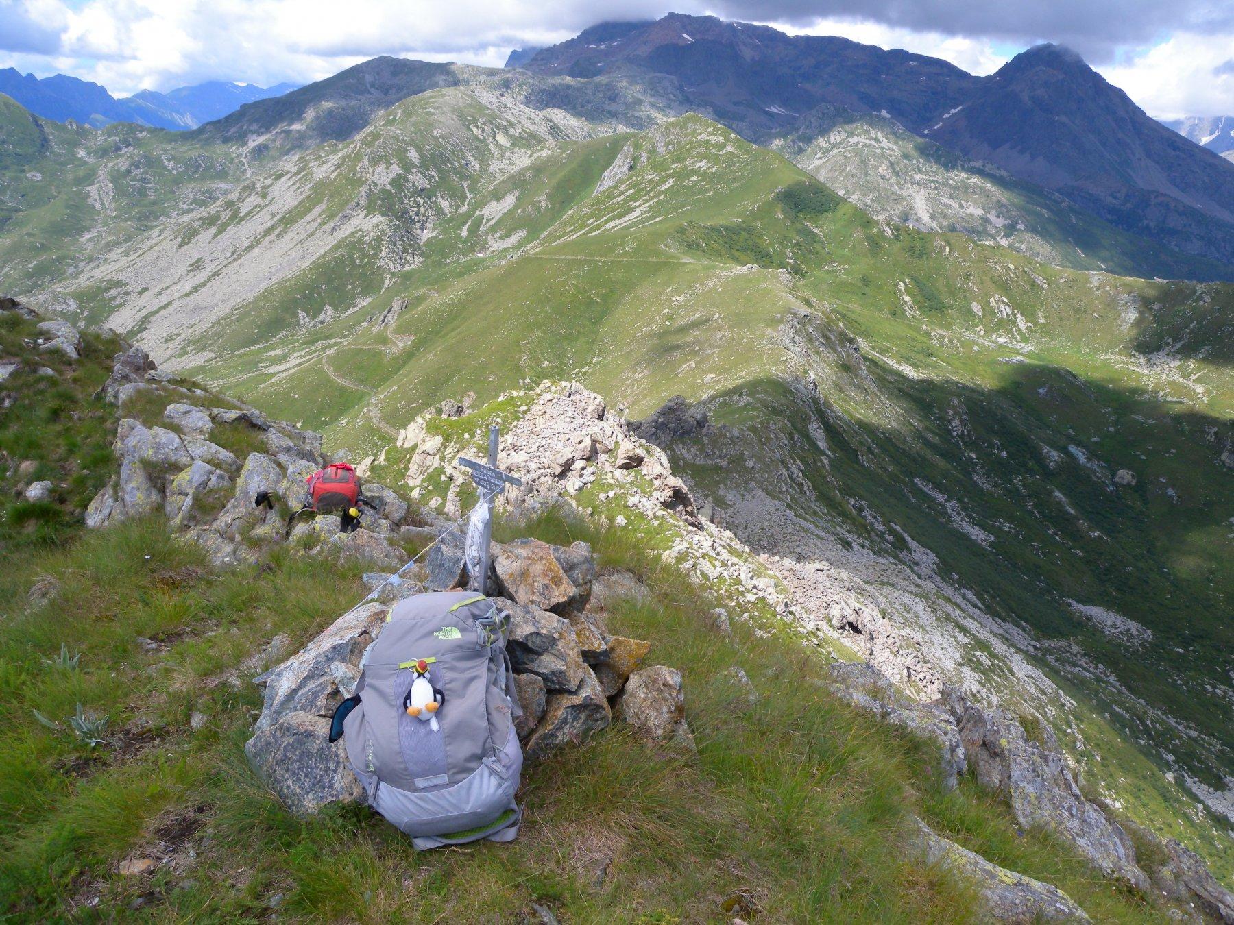 Moross (Rocca) dall'Alpe Bianca per il Colle Pian Fum 2018-07-22