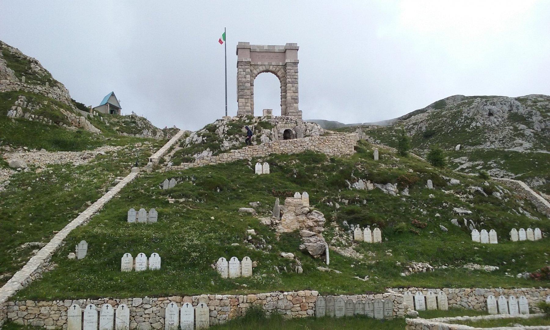 Il cimitero della Brigata Liguria