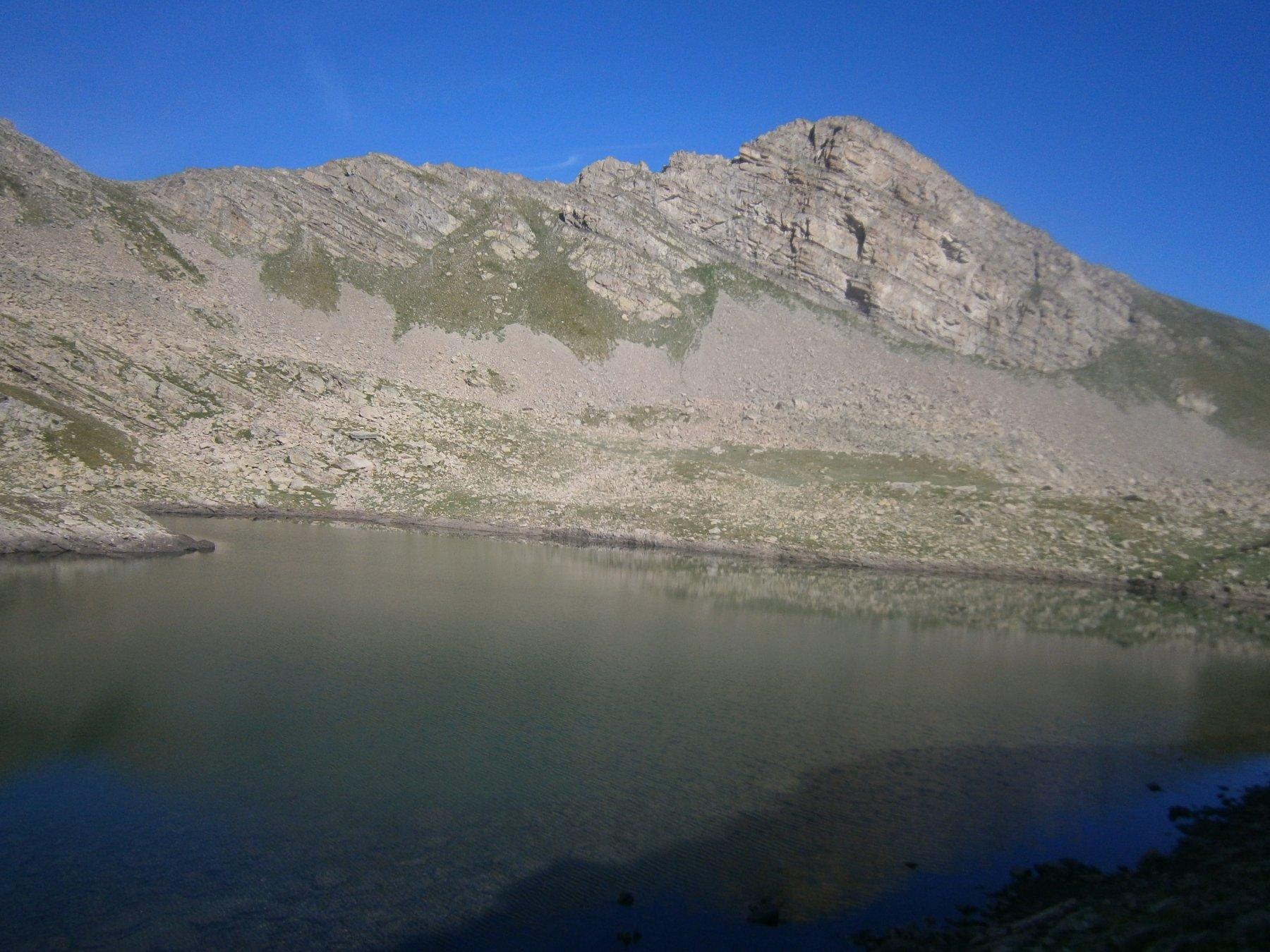 Bosse du Lauzanier dal lac des Hommes 1