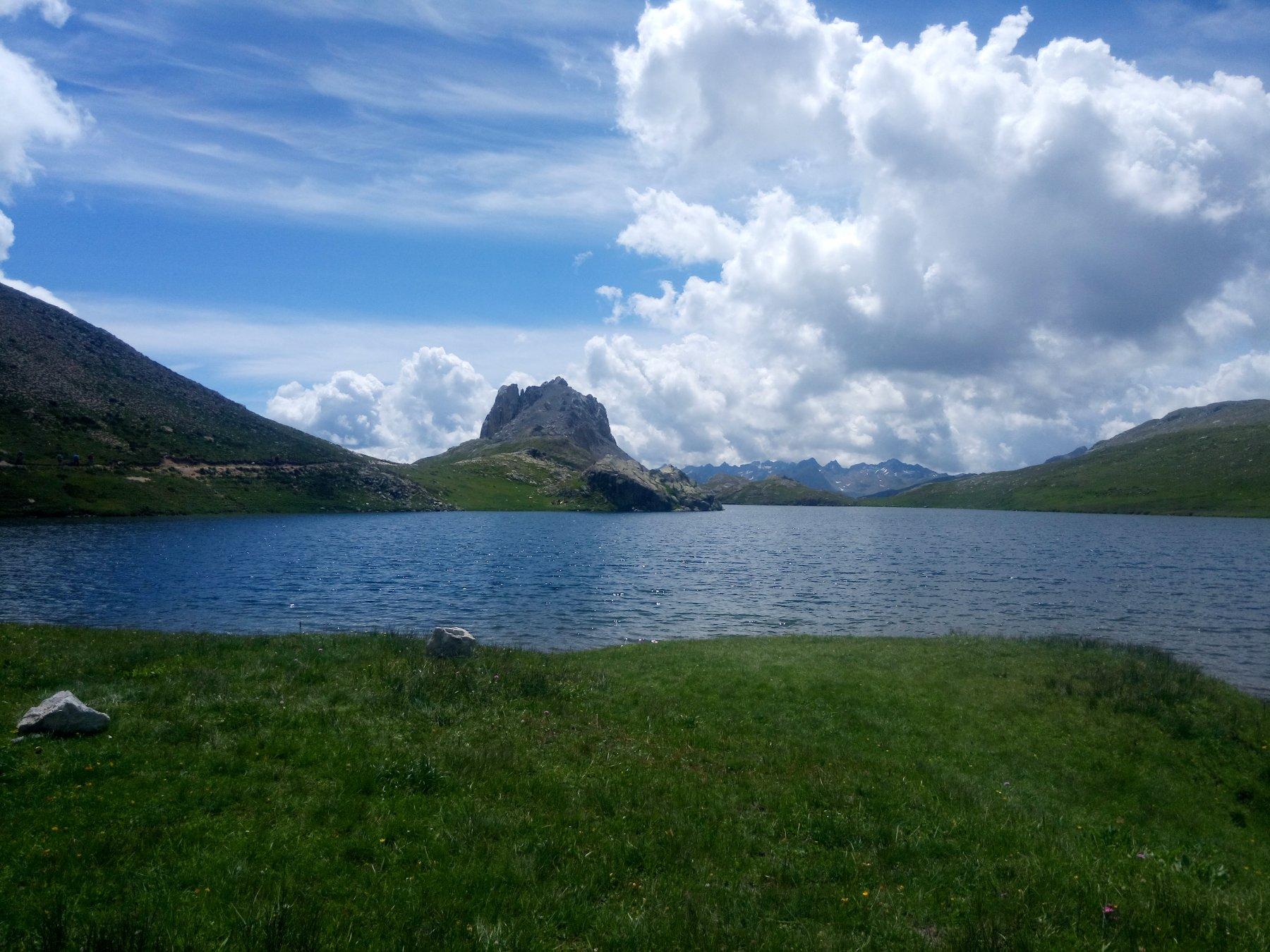 lago superiore di roburent...