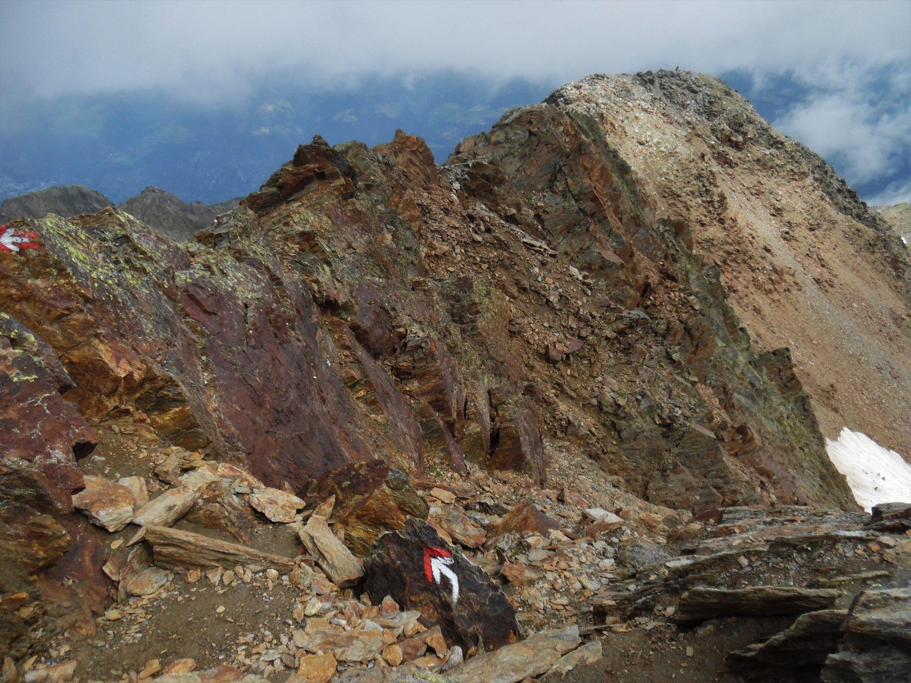 Cresta Azzurra (vista al ritorno)