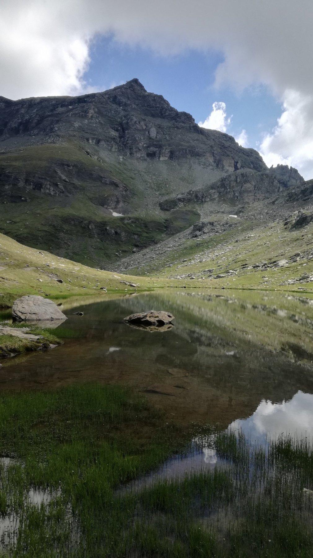 Il Pinter visto dai laghi omonimi