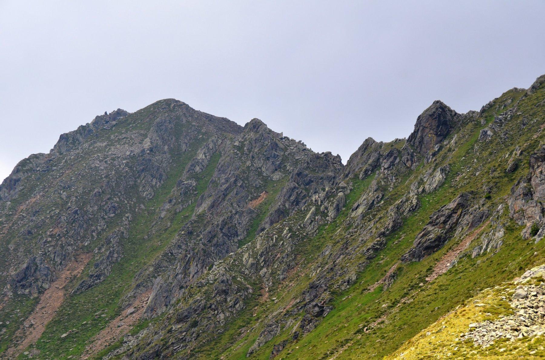 Seefeldspitze e cresta est