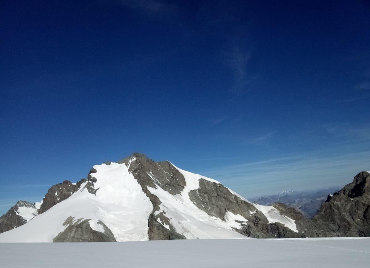 La Biancograt fotografata dal Palu' Centrale