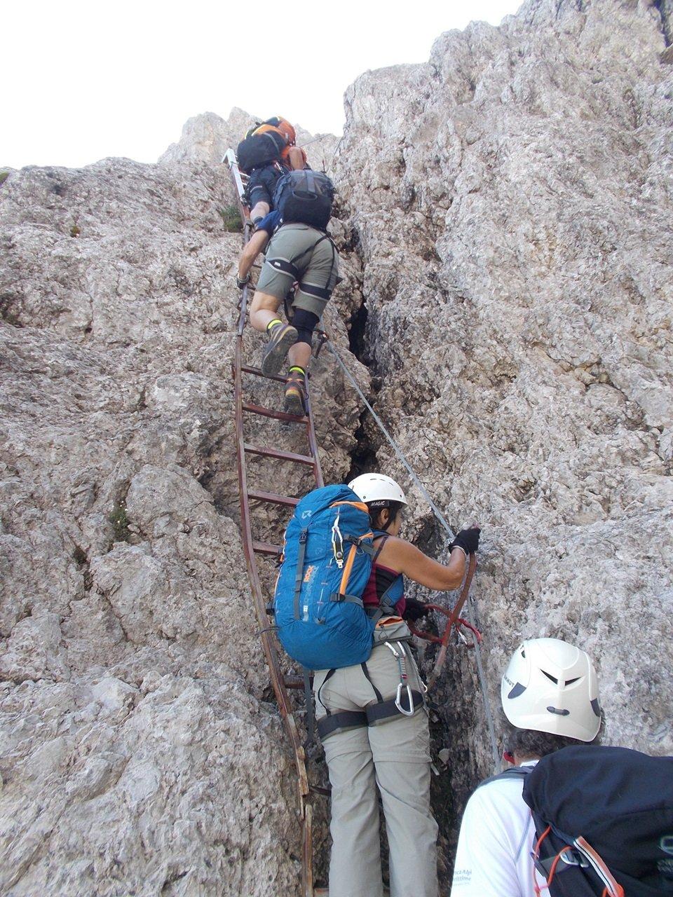 il tratto con scale