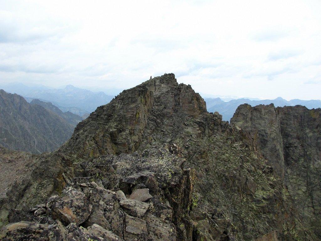 Dalla cima Bertrand, la Testa dell'Ubac
