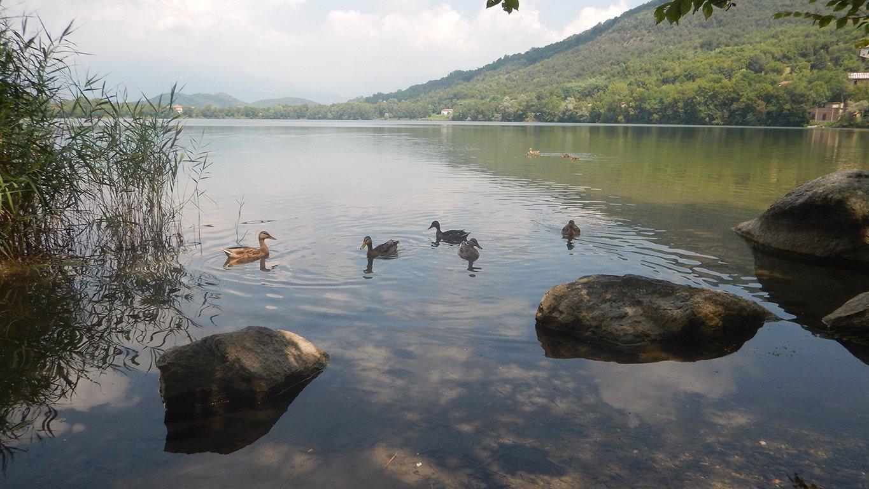 Sosta per pranzo sul Lago Piccolo