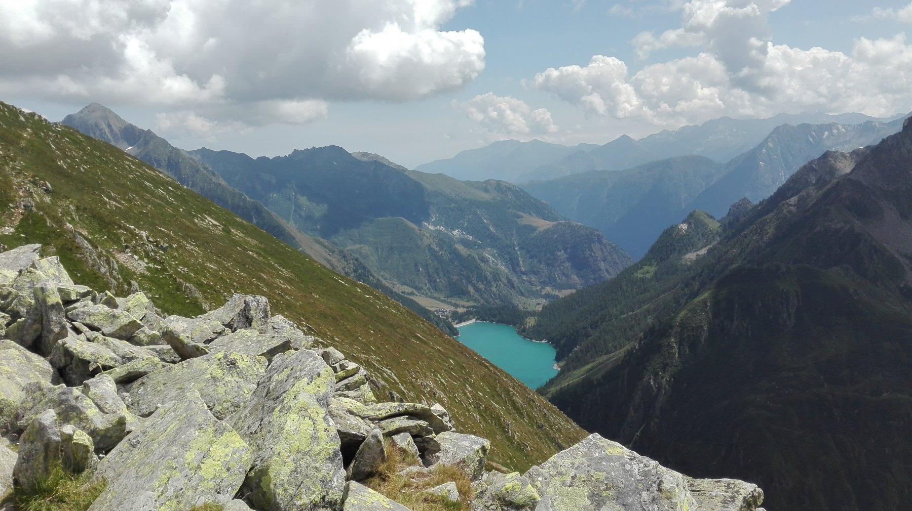 Lago dei Cavalli dal passo Andolla