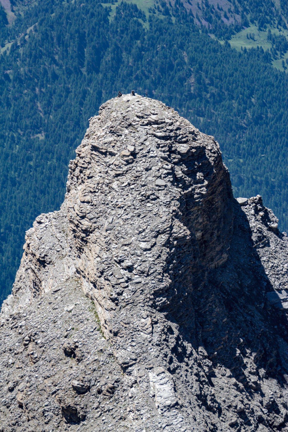 rocca tre vescovi dalla cima