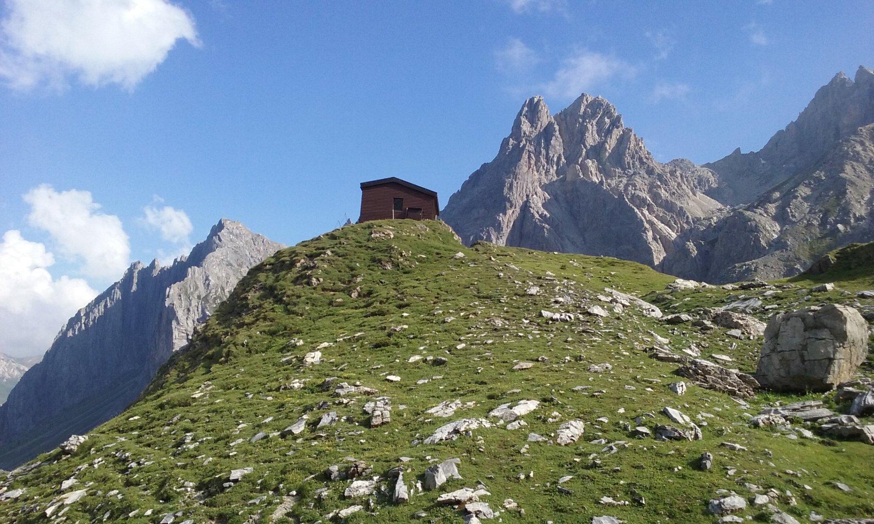 Oronaye (Monte, Cima Est o Cima Dronero) Ferrata degli Alpini 2018-07-29