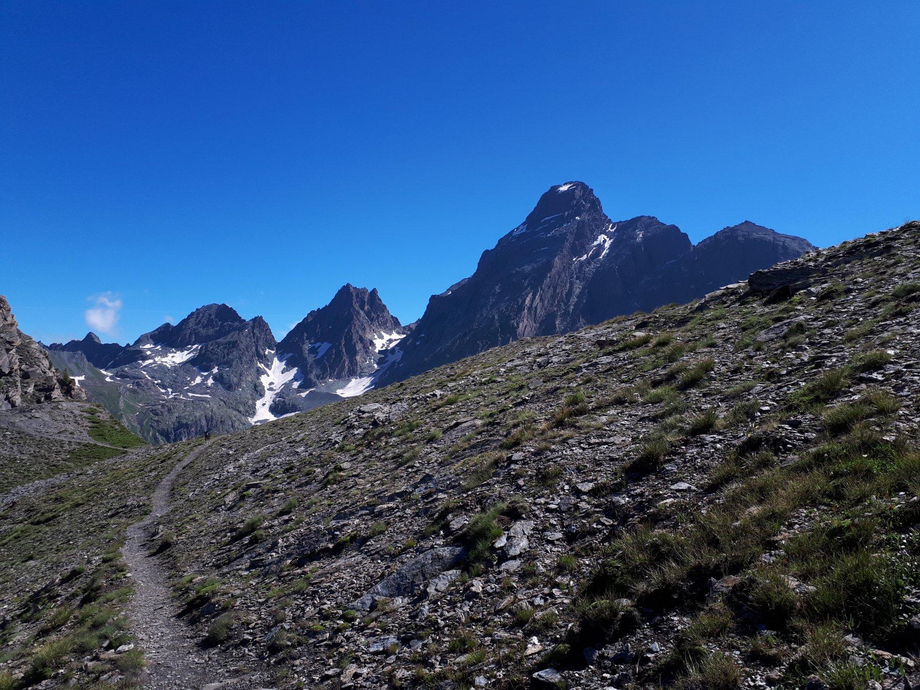 Cresta Savaresch e Monviso