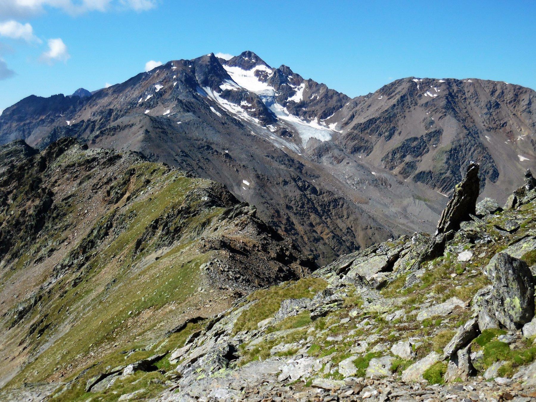 Cresta tra il Flimkanzel e la Soyspitze