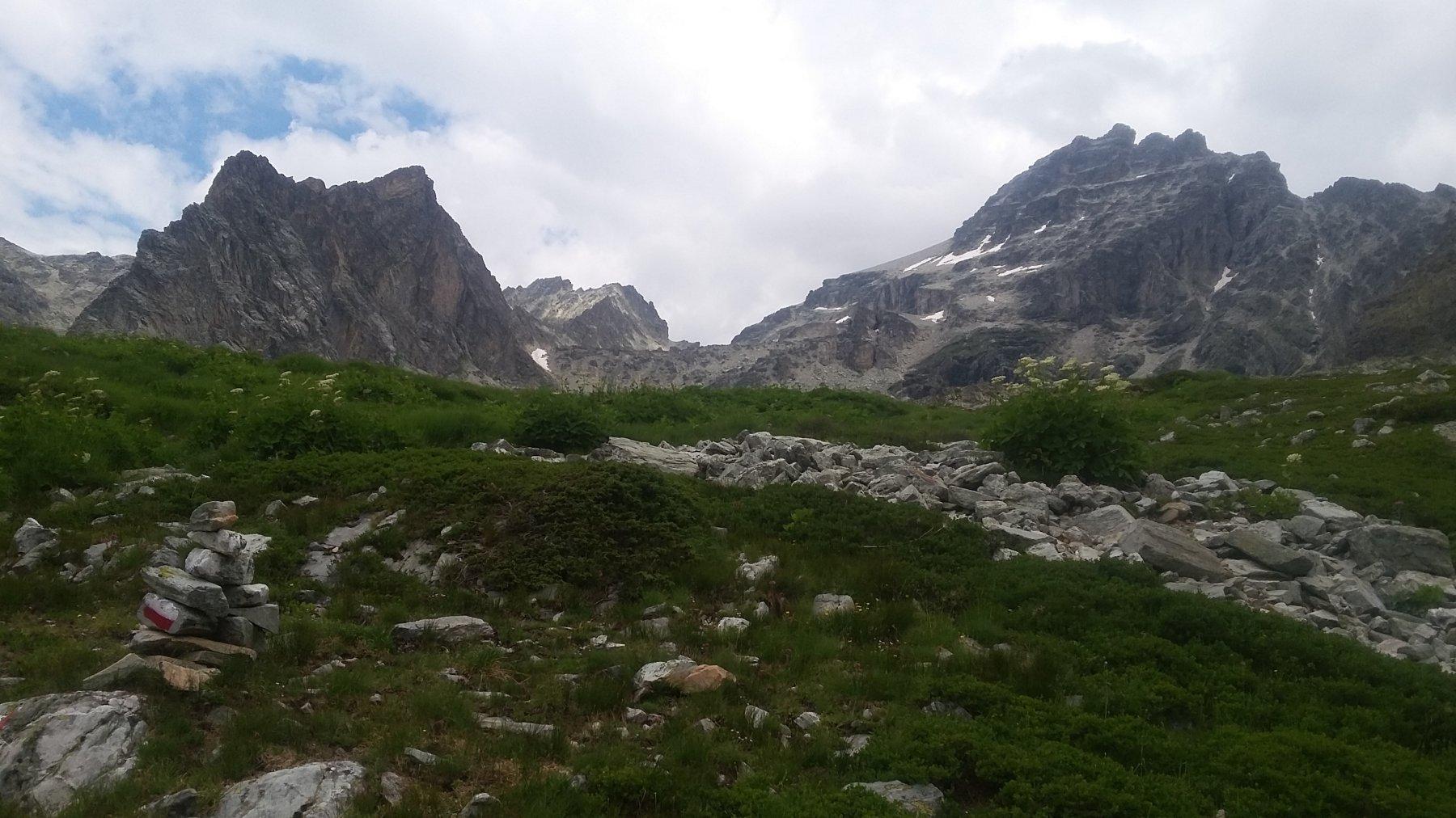 dal sentiero glaciologico