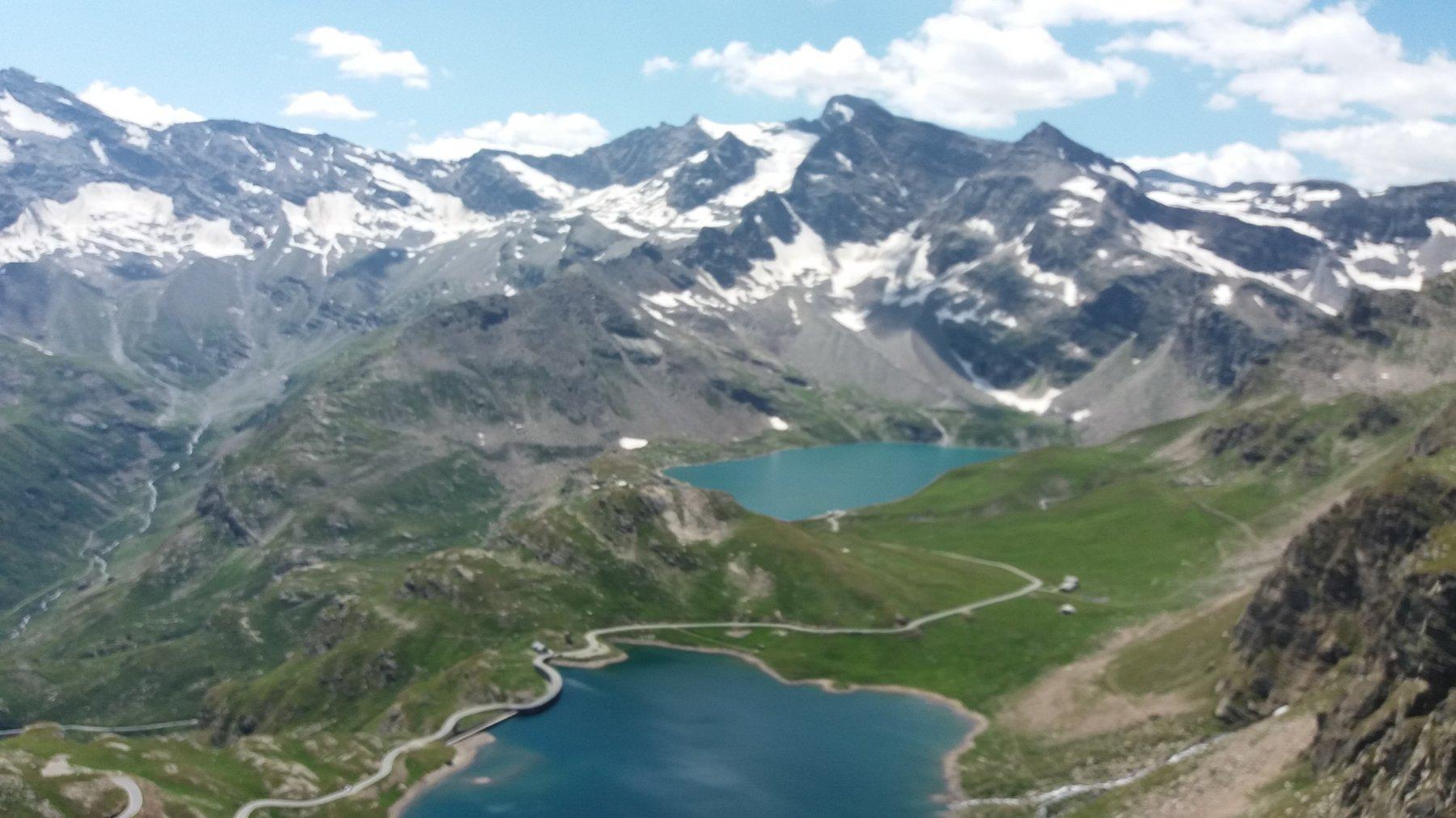 I laghi dell'Agnel e del Serru'