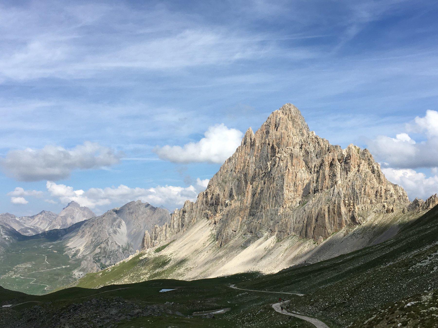 Rocca la Meja dal Colle d'Ancoccia