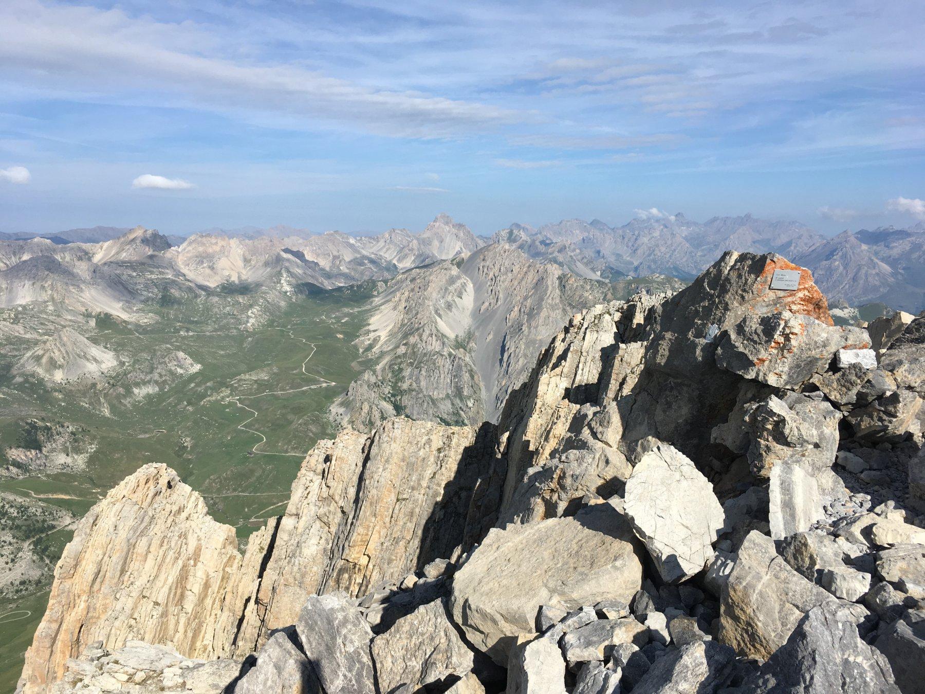 Vista sull'Altopiano della Gardetta dalla cima