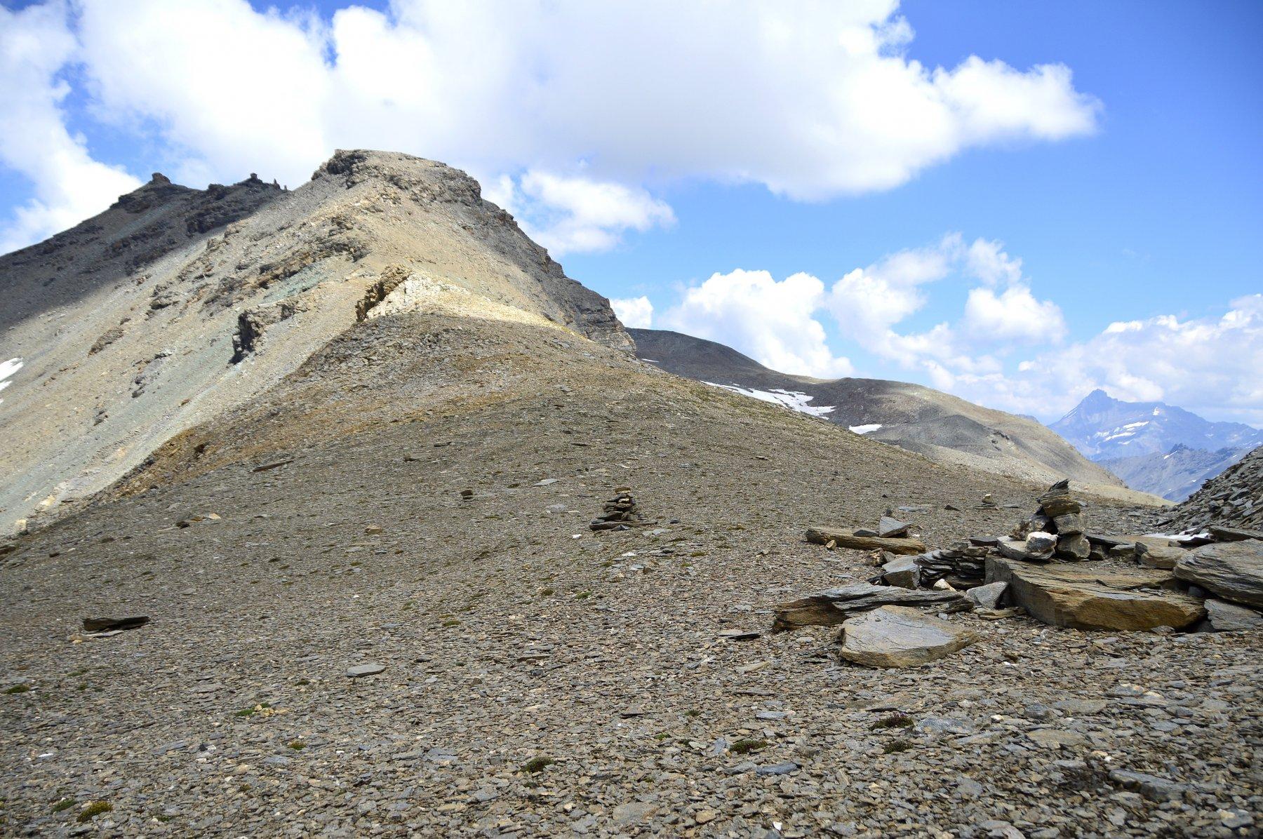 Colle Bassac nord con omonima punta sullo sfondo