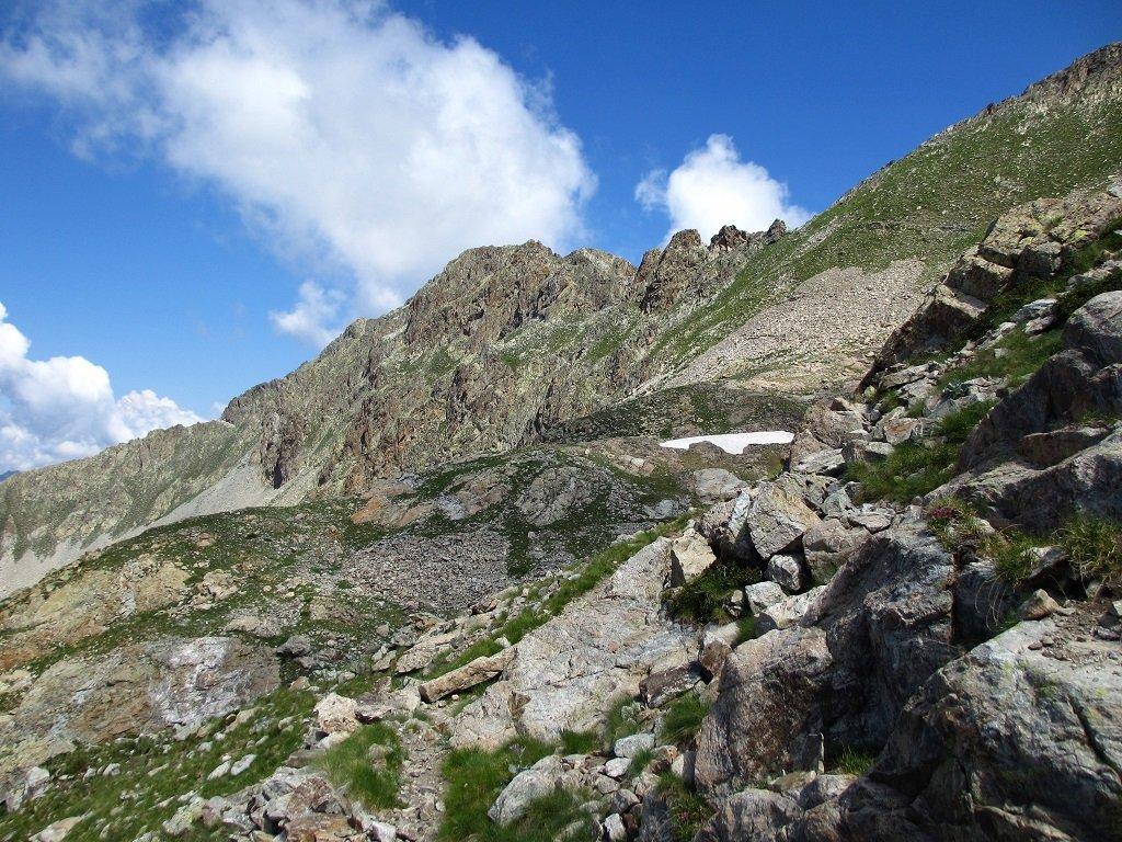 Monte Carbonè da ovest