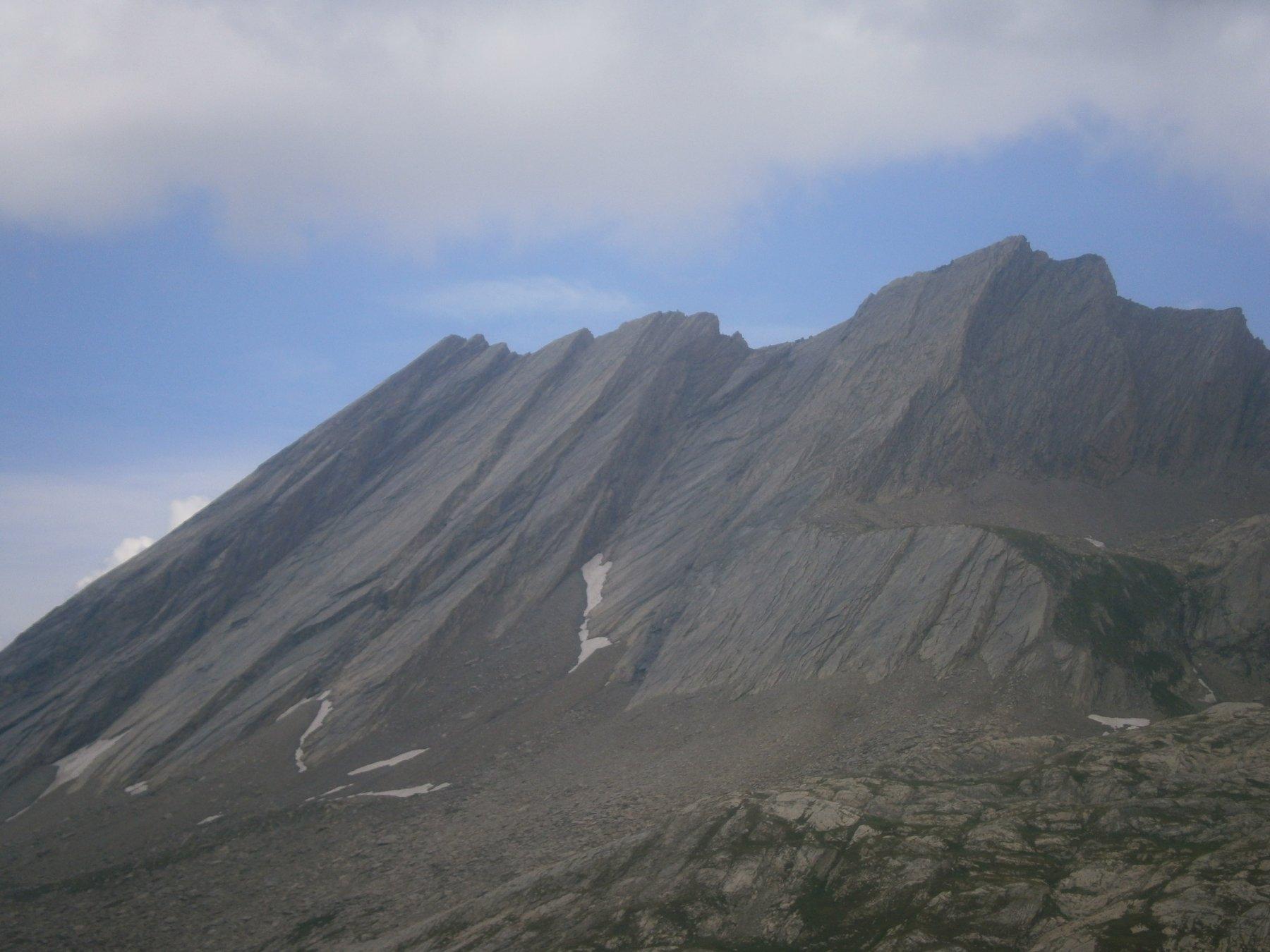 le bancate rocciose della Taillante