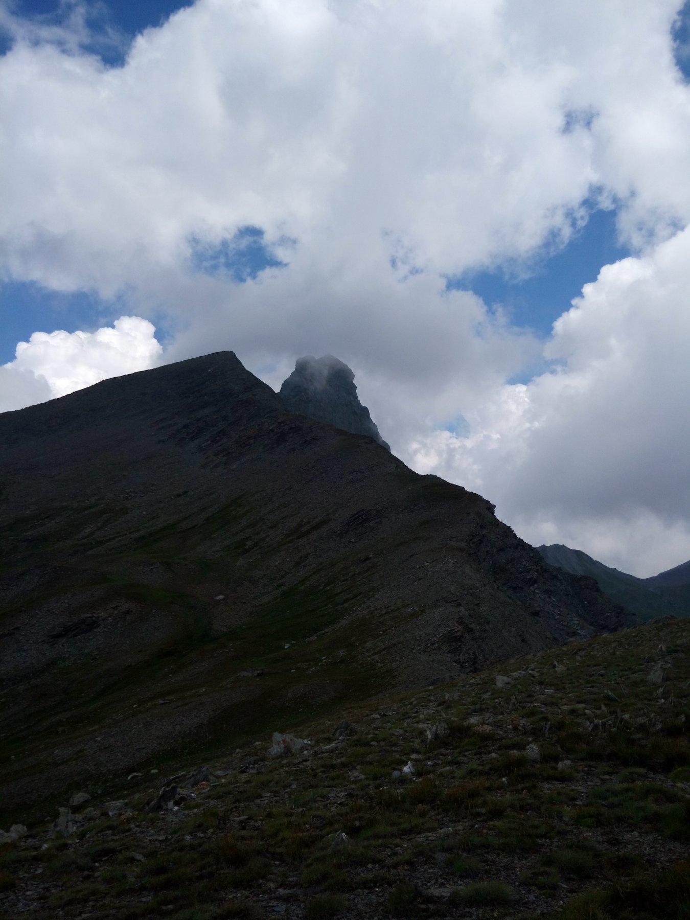 La panoramica cresta...