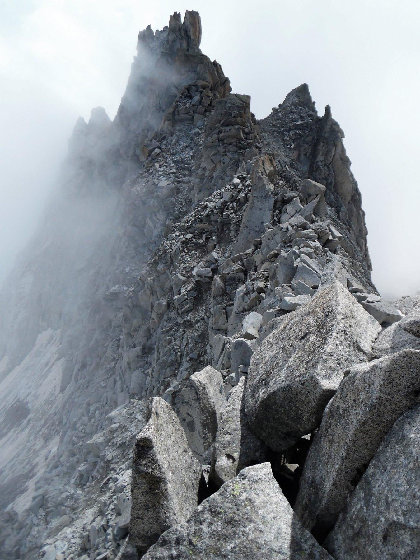 Dalla Bocchetta di Monte Nero