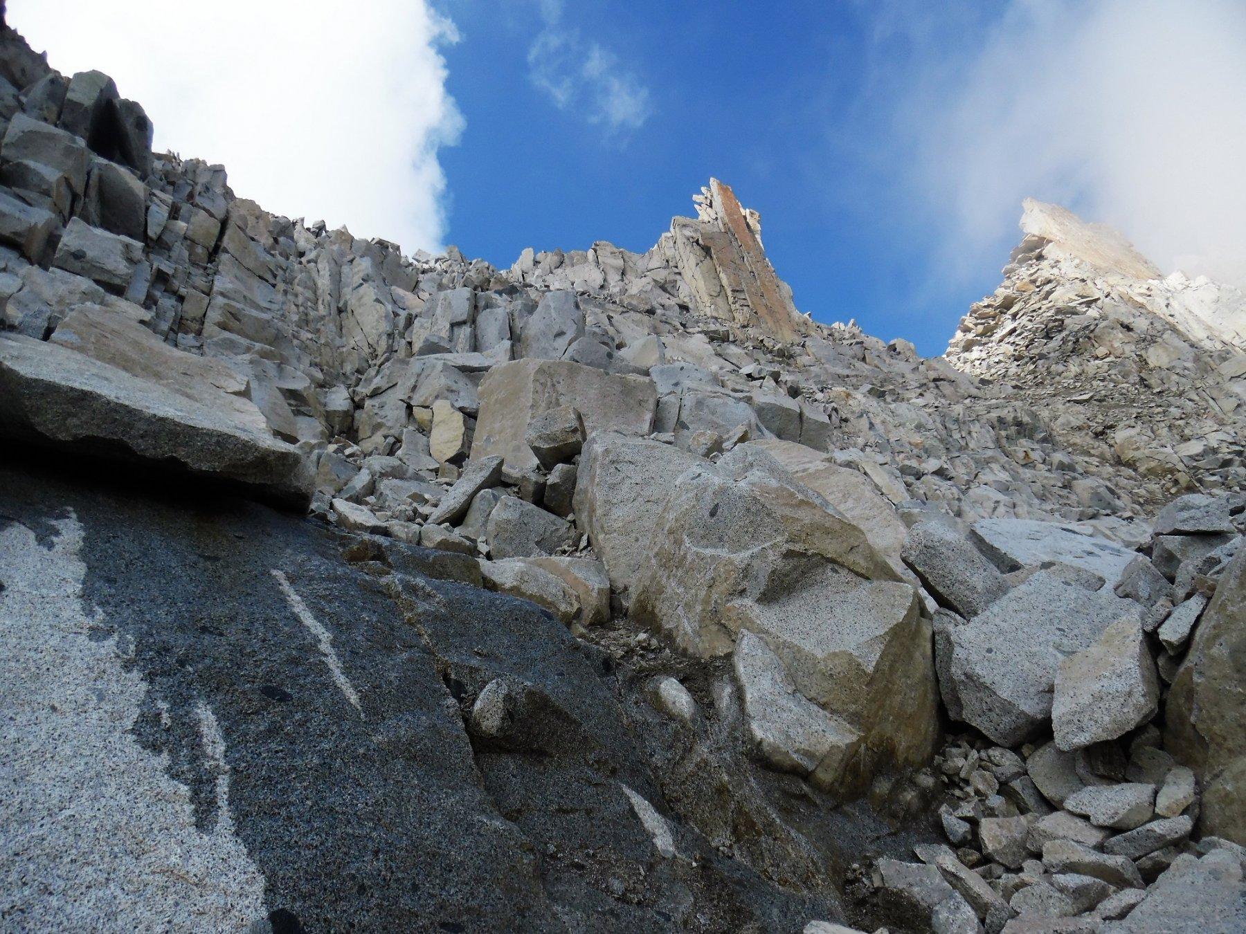 Verso la Bocchetta di Monte Nero