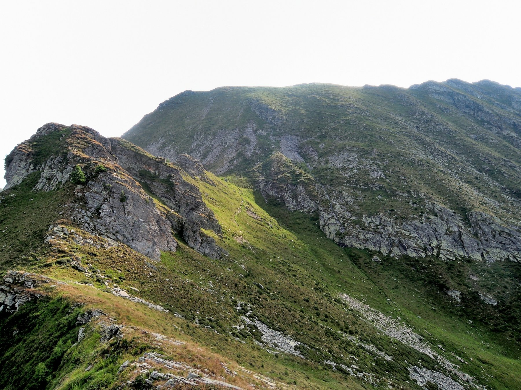 Schegge di Muino viste dalla Cima Alta