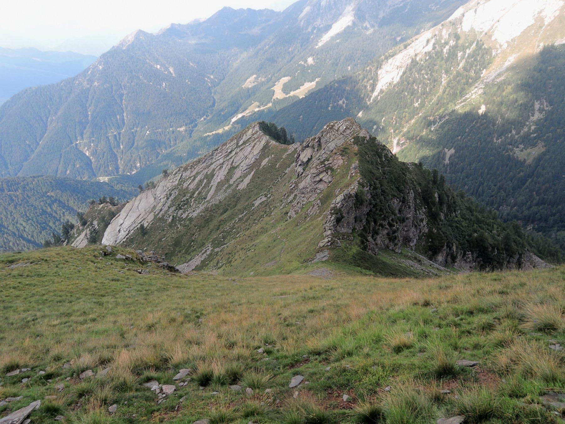 Cima Alta vista dalle Schegge di Muino