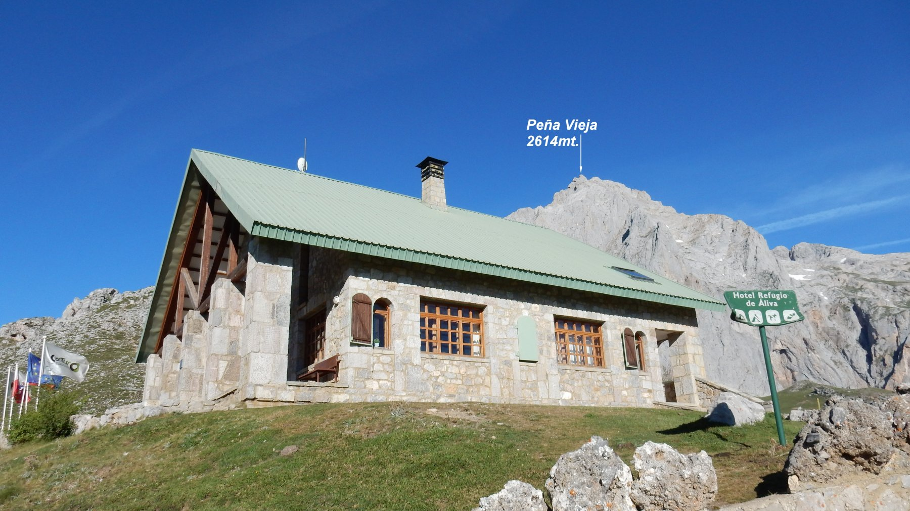 Refugio de Aliva 1666mt.