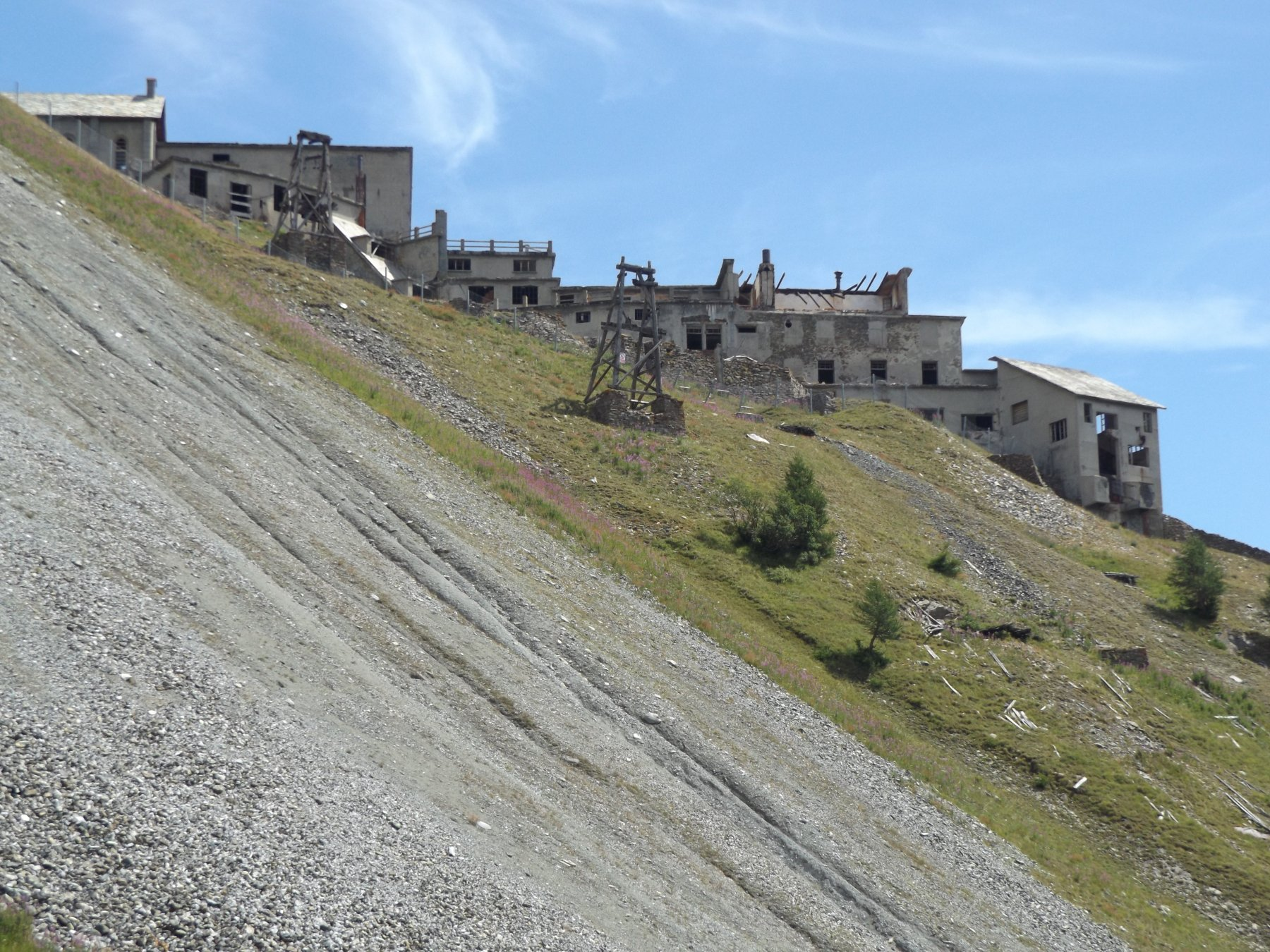 L'abitato delle miniere di Colonna