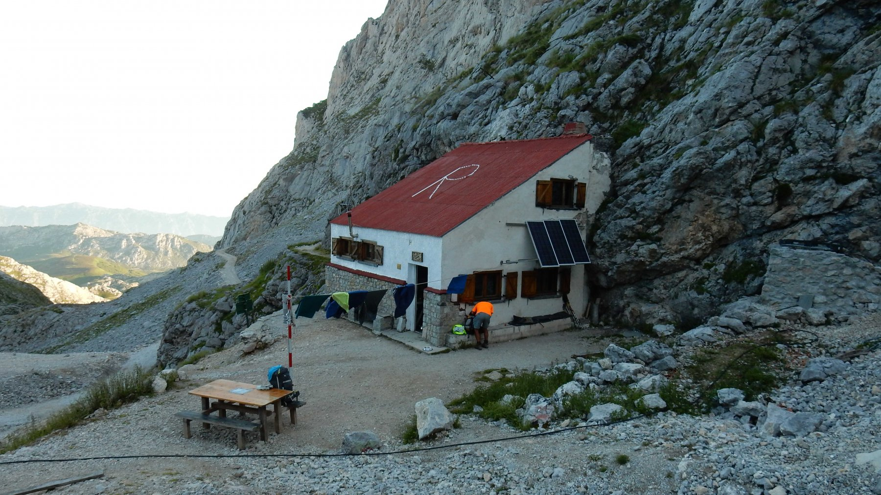 Picos de Europa (Anillo) tappa 7: dal Caseton de Andara a Refugio de Urriellu 2018-08-11