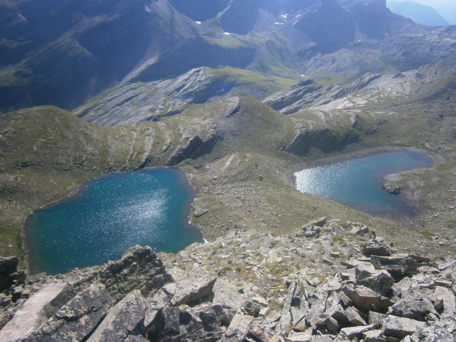 I due lacs des Hommes dalla Bosse